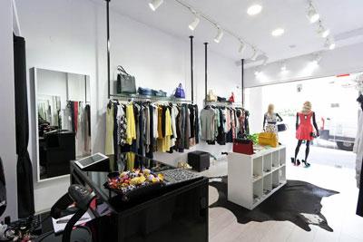 עיצוב חנויות, מעצבת חנויות