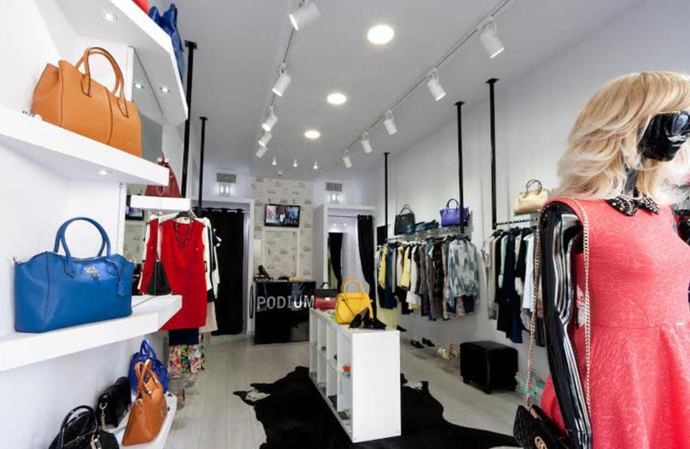 עיצוב פנים לחנות אופנה, עיצוב חנויות אופנה, מעצבת חנויות אופנה